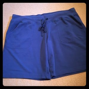 ATHLETIC WORKS lounge shorts with drawstring
